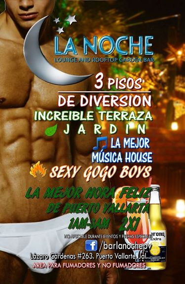 La Noche Gay Night Club And Bar Puerto Vallarta Gay