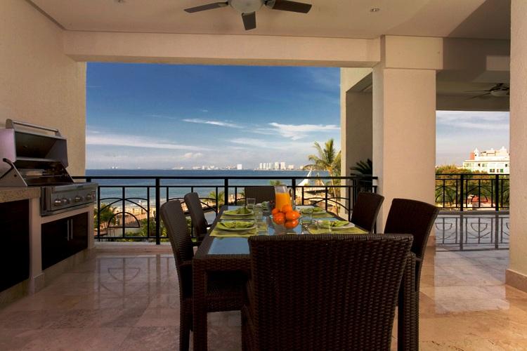 Puerto Vallarta Condo Rental 3 Bedroom Beachfront Building