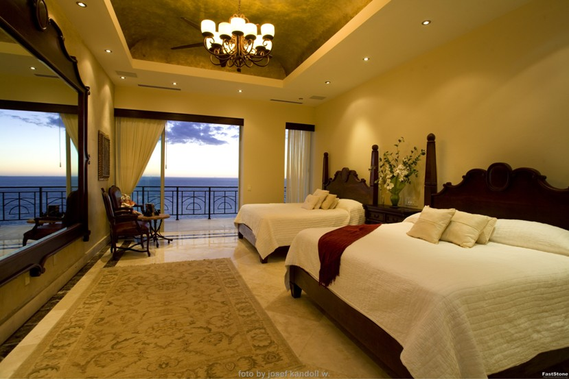 Bed Bedrooms With Two Beds. Molino de Agua Penthouse 1 Gay Puerto Vallarta  Old Town