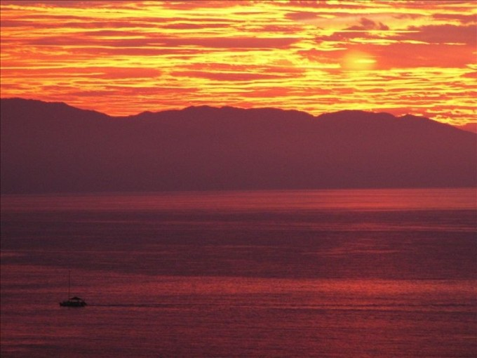 Another Great Vallarta Sunset In Gay Friendly Mexico
