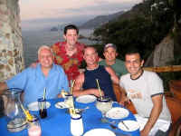 at le Kliff restaurant michael bottrill and friends may 04
