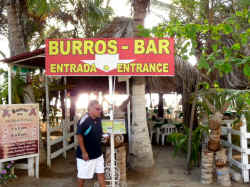 burros bar beachfront restaurant vallarta