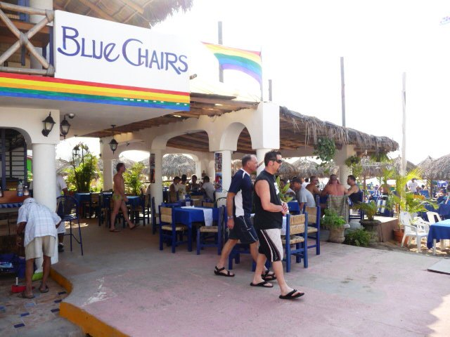 Blue Chair Puerto Vallarta gay puerto vallarta travel guide - gay beach photos blue and green