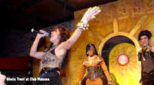 gay party club Manana hosts famous popstar Gloria Trevi