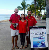 private home tours by PV friendship clubs' Hank and Conrad