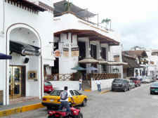 Hard rock cafe, Mandala, and Zoo bar on Puerto Vallarta malecon