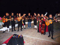 live music in puerto vallarta mexico on the malecon during holidays