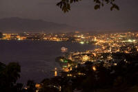 picture of Puerto Vallarta, Mexico at night thanks to Angela