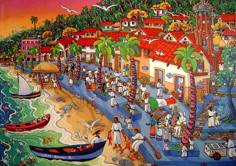 Puerto Vallarta Art Galleries & Culture - Art Walk, Scene, Artwork ...