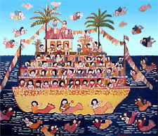 Manuel Lepe - boat - thanks to the family of the artist