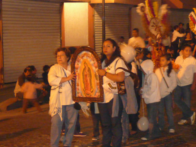 puerto vallarta things to see and know about - parades along Juarez street downtown