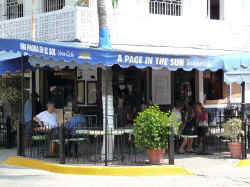 puerto vallarta cafe coffee and bookstore the old A Page in the Sun