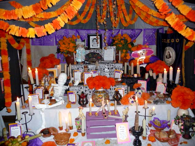 puerto vallarta day of dead another beautiful memorial altar