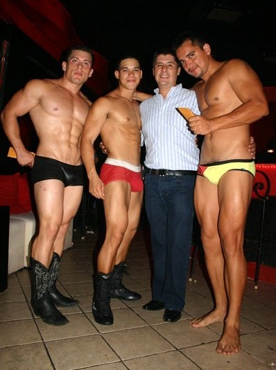 Gay male dancers la