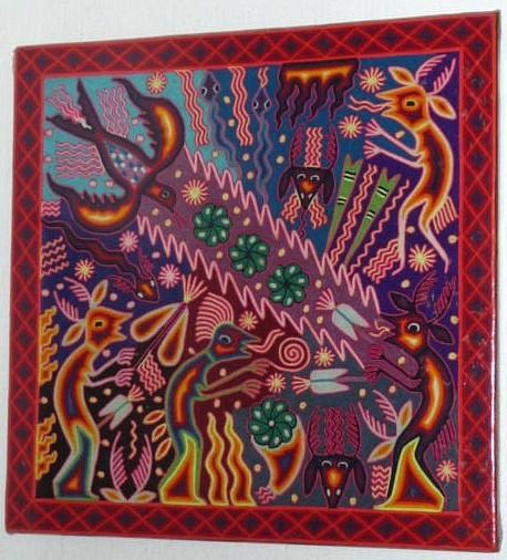 Huichol Art Center Some Huichol Art Symbols Are