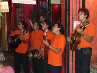 puerto vallarta live music scene with musicians los bambinos at Apaches