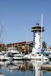 puerto vallarta marina and el faro bar - picture thanks to benoit