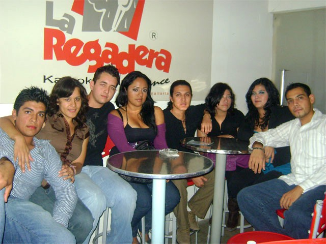 popular vallarta nightlife and karaoke bar - photo thanks to la Regadera
