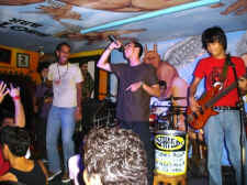 puerto vallarta nightlife bar Bebetero with live music bands - picture thanks to Bebetero