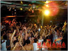 gay night-club Manana and jeanie tracy during vallarta latin fever - picture thanks to Manana