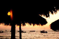 photo thanks to william clark a vallarta palapa sunset
